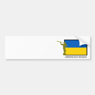 UKRAINE KIEV MISSION LDS CTR BUMPER STICKERS
