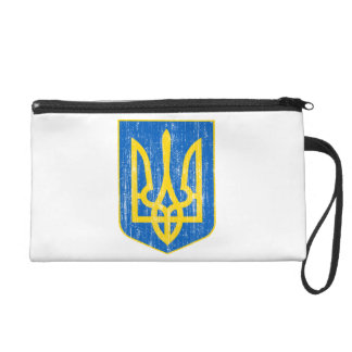 Ukraine Lesser Coat Of Arms Wristlets