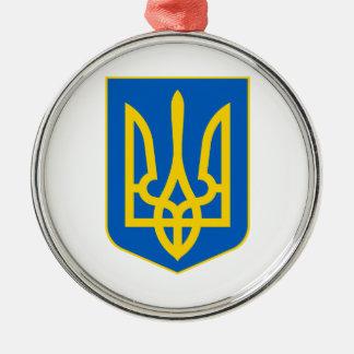 Ukraine Lesser Coat Of Arms Christmas Ornament