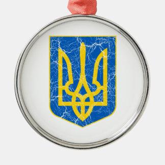 Ukraine Lesser Coat Of Arms Christmas Ornaments