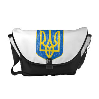 Ukraine Lesser Coat Of Arms Commuter Bag