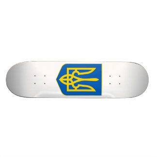 Ukraine Lesser Coat Of Arms Skate Board Deck