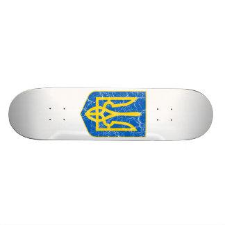 Ukraine Lesser Coat Of Arms Skateboard Decks