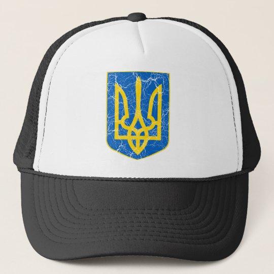 Ukraine Lesser Coat Of Arms Trucker Hat