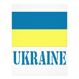 Ukraine Letterhead Template