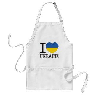 Ukraine Love v2 Adult Apron