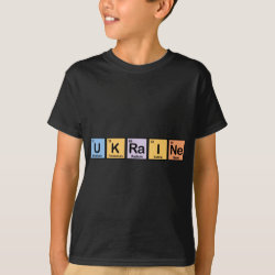 Kids' Hanes TAGLESS® T-Shirt with Ukraine design