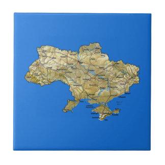 Ukraine Map Tile