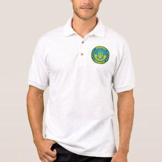 Ukraine Medallion Apparel Polo Shirt