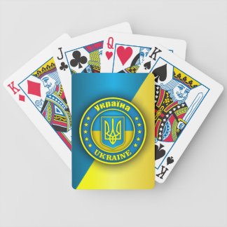Ukraine Medallion Bicycle Playing Cards