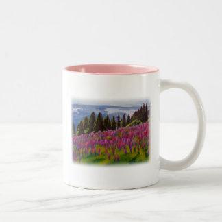 'Ukraine' Two-Tone Coffee Mug