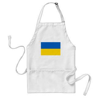 Ukraine National Flag Adult Apron