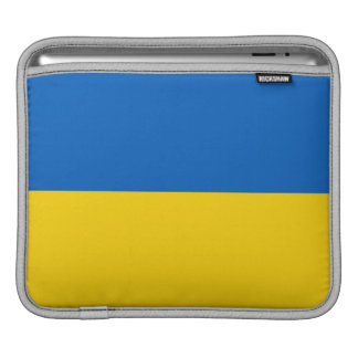 Ukraine National Flag Sleeve For iPads