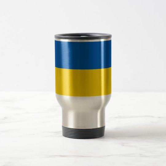 Ukraine National Flag Travel Mug