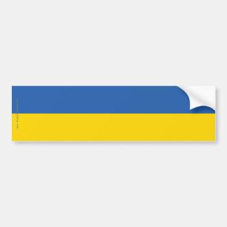 Ukraine Plain Flag Bumper Sticker