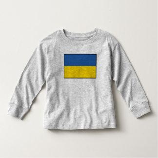 Ukraine Plain Flag Toddler T-shirt