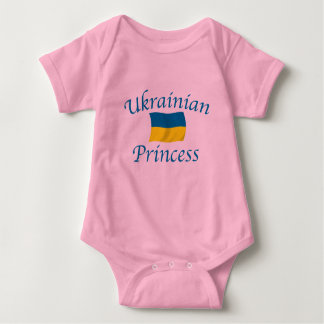 Ukraine Prncess Baby Bodysuit