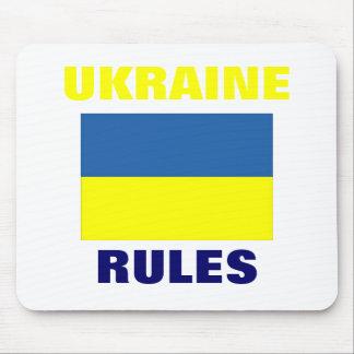UKRAINE RULES MOUSEPAD