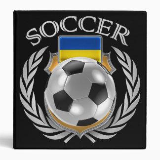 Ukraine Soccer 2016 Fan Gear 3 Ring Binder