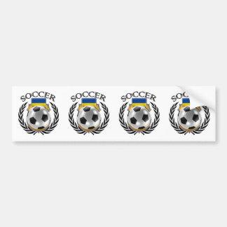 Ukraine Soccer 2016 Fan Gear Bumper Sticker