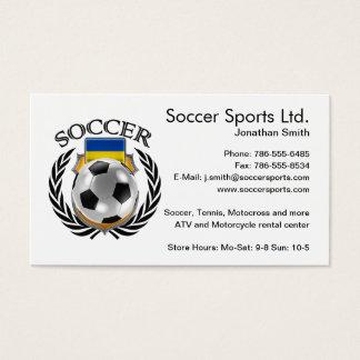 Ukraine Soccer 2016 Fan Gear Business Card