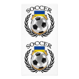 Ukraine Soccer 2016 Fan Gear Card