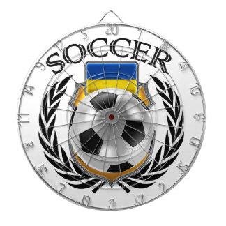 Ukraine Soccer 2016 Fan Gear Dartboard With Darts