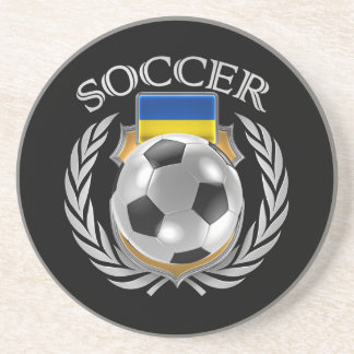 Ukraine Soccer 2016 Fan Gear Drink Coaster