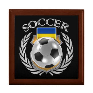Ukraine Soccer 2016 Fan Gear Keepsake Box