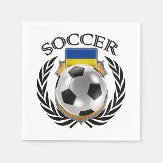 Ukraine Soccer 2016 Fan Gear Napkin