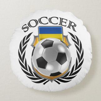Ukraine Soccer 2016 Fan Gear Round Pillow