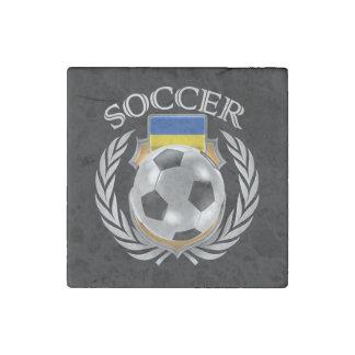 Ukraine Soccer 2016 Fan Gear Stone Magnet