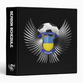Ukraine Soccer Champions Binder