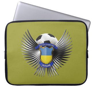 Ukraine Soccer Champions Computer Sleeve