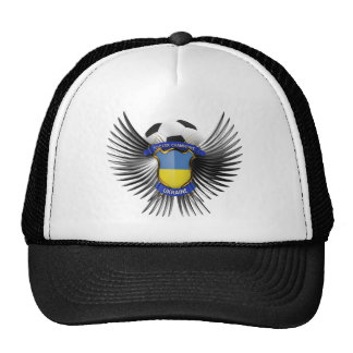 Ukraine Soccer Champions Hat