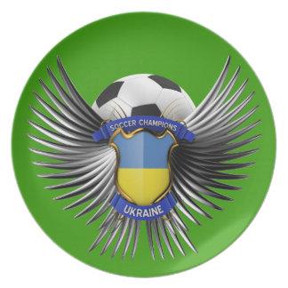 Ukraine Soccer Champions Plate