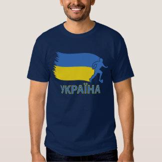 Ukraine Soccer Flag Shirt