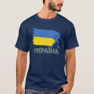 Ukraine Soccer Flag T-Shirt