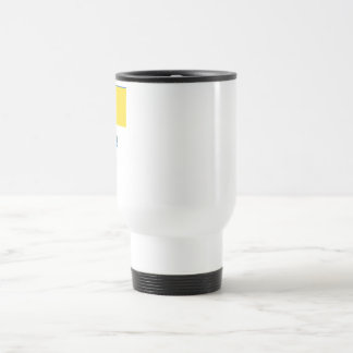 Ukraine Traditional Flag with Name Travel Mug