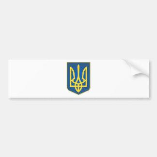 Ukraine Trident Bumper Sticker