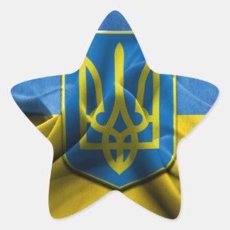 Ukraine Trident Star Sticker