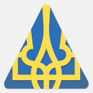 Ukraine Trident Triangle Sticker