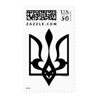 Ukraine - Tryzub - Stamps