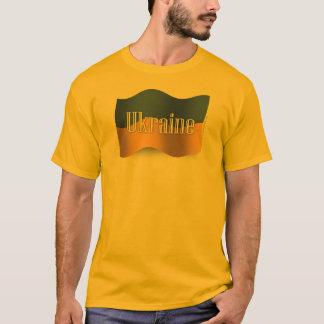 Ukraine Waving Flag T-Shirt