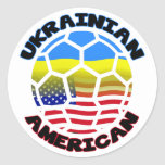 Ukrainian America Soccer Stickers