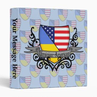 Ukrainian-American Shield Flag Binder