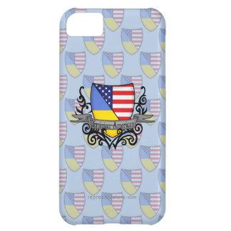 Ukrainian-American Shield Flag iPhone 5C Case
