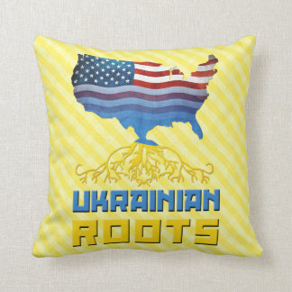 Ukrainian American Ukrainian Roots Pillow