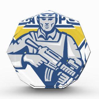 Ukrainian Army Junta Power Acrylic Award