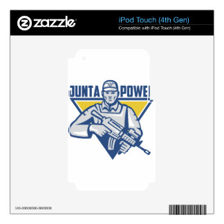 Ukrainian Army Junta Power Skins For iPod Touch 4G